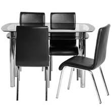 Black Glass Dining Table And 4 Chairs Glass Dining Tables And Chairs 4 Seater Black Glass Dining Sets