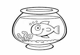fish bowl coloring pages preschool fish bowl printable fish bowl