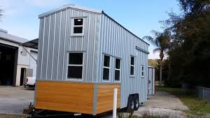 tiny house talk custom tiny house on wheels with a split round