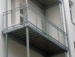 stahlbau balkone balkon aus stahl preise balkon aus stahl mit glasdach und glasbr
