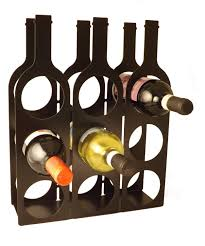 accessories cool upside down black metal wine rack design ideas