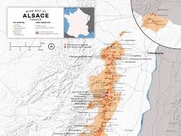 Alsace France Map by Understanding Alsace Wine W Maps Wine Folly