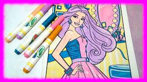 crayola 75 0210 color wonder coloring book barbie