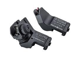 rapid transition sight with fiber optics set front rear