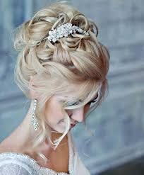 Hochsteckfrisurenen Hochzeit Braut by Eine Prachtvolle Brautfrisur Mit Silbernem Kopfschmuck Frisur