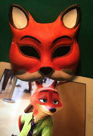 halloween fox online get cheap paper fox mask aliexpress com alibaba group
