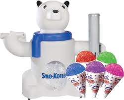 sno cone machine rental polar snow cone machine rental with chest