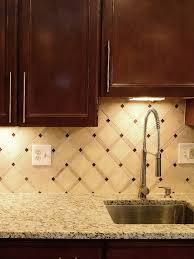brown kitchen cabinets backsplash ideas ba1029 limestone travertine glass