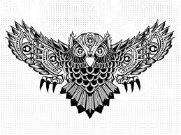 the seven eyed owl wip by brian steely dribbble