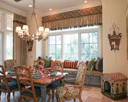 Window Treatments Dining Room French Country Window Treatments Houzz