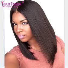 2017 summer long bob wig middle part u part bob wig human hair
