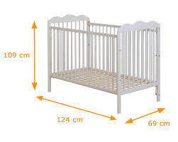 Standard Size Crib Mattress Dimensions Standard Baby Crib Size Baby And Nursery Furnitures