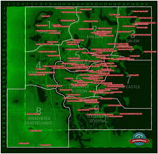 Fallout 3 Map by Fallout 4 Magazines Location Map Fallout Pinterest
