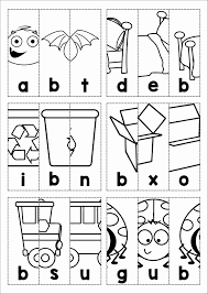 free phonics letter of the week b beginning b cvc words picture