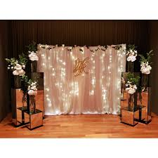 wedding backdrop singapore capella singapore overall wedding deco backdrop photobooth design
