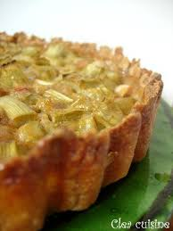 cuisine rhubarbe tarte à la rhubarbe clea cuisine