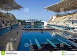 rio 2016 olympic venues maria lenk aquatic center editorial
