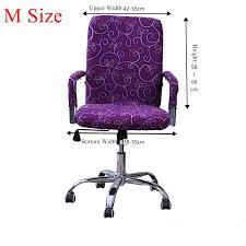 housse chaise de bureau housse chaise lycra unique aliexpress acheter s m l spandex chaise