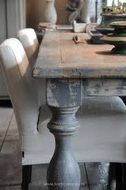 Dining Tables  Weathered Grey Round Dining Table Grey Kitchen - Distressed white kitchen table
