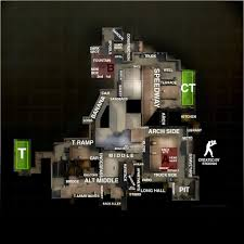 Wildfire Map Cs Go by Cs Go Map Callouts Overviews For Competitive Maps