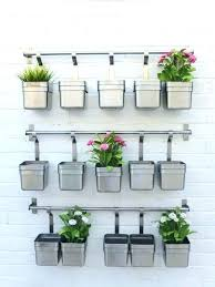 planters that hang on the wall hanging wall planters tekino co