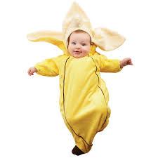 baby halloween costumes monkey banana bunting infant costume buycostumes com