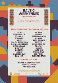 Baltic Weekender Festival by Liverpool Events On Twitter