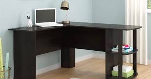 L Shaped Desk With Side Storage Walmart L Shaped Desk Just 37 46 Reg 84 Hip2save