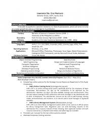 Resume Computer Science Examples by Science Resume Objective Examples Loses Advice Cf