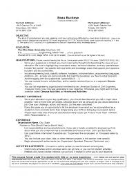 Hobbies Interests In Resume Resume Examples For Jobs With Little Experience Resume Example