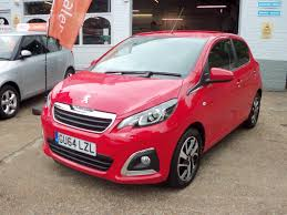 peugeot 108 second hand used 2014 peugeot 108 allure 5dr for sale in brighton east sussex