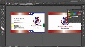 How To Design Your Business Card How To Design A Double Sided Business Card In Adobe Illustrator Cc