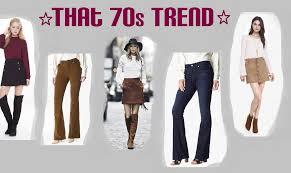 the ritzy glitzy that 70s trend