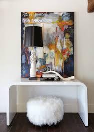 Fuzzy White Ottoman Bromeliad Fashion And Home Decor Diy And Inspiration