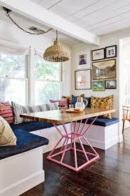 table de cuisine originale pourquoi choisir une table avec banquette pour la cuisine ou la