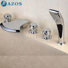 Faucet Shower Converter Popular Two Handle Faucet For The Bathtub With Shower Buy Cheap