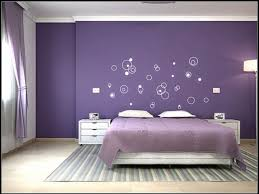 creative blue and purple bedroom color combo remodel interior