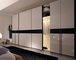 bedroom luxurious design of bedroom closets with sliding doors at
