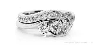 Unusual Wedding Rings by Best Unique Wedding Ring Sets Delightfully Unique Diamond Wedding