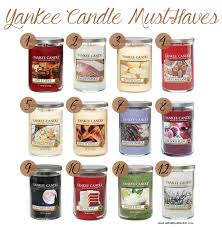 yankee candle must haves with all my affection