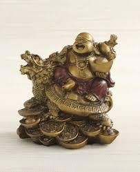 Home Decor Buddha Statue Happy Buddha And Turtle Statue 4 5 Inches