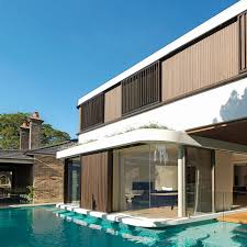 House With A Moat The Pool House Luigi Rosselli Architects