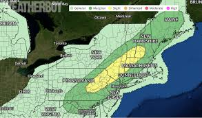 Severe Weather Map September Severe Weather In Northeast