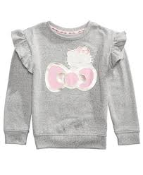 hello foil print sweater toddler 2t 5t sweaters