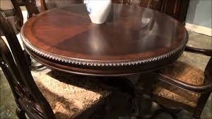 dining tables round pedestal table and chairs rectangular