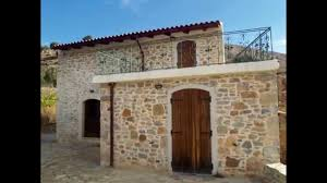 seaside real estate in greece traditional stone house for sale
