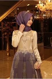 pinar sems şems harem evening dress purple
