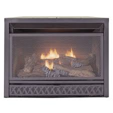 gas fireplace insert dual fuel technology 26 000 btu procom