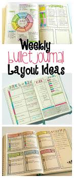 get layout from view bullet journal weekly layout ideas bullet journals prioritize and