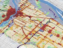 Portland City Maps by Portland Planned Inside And Out Free Association Design